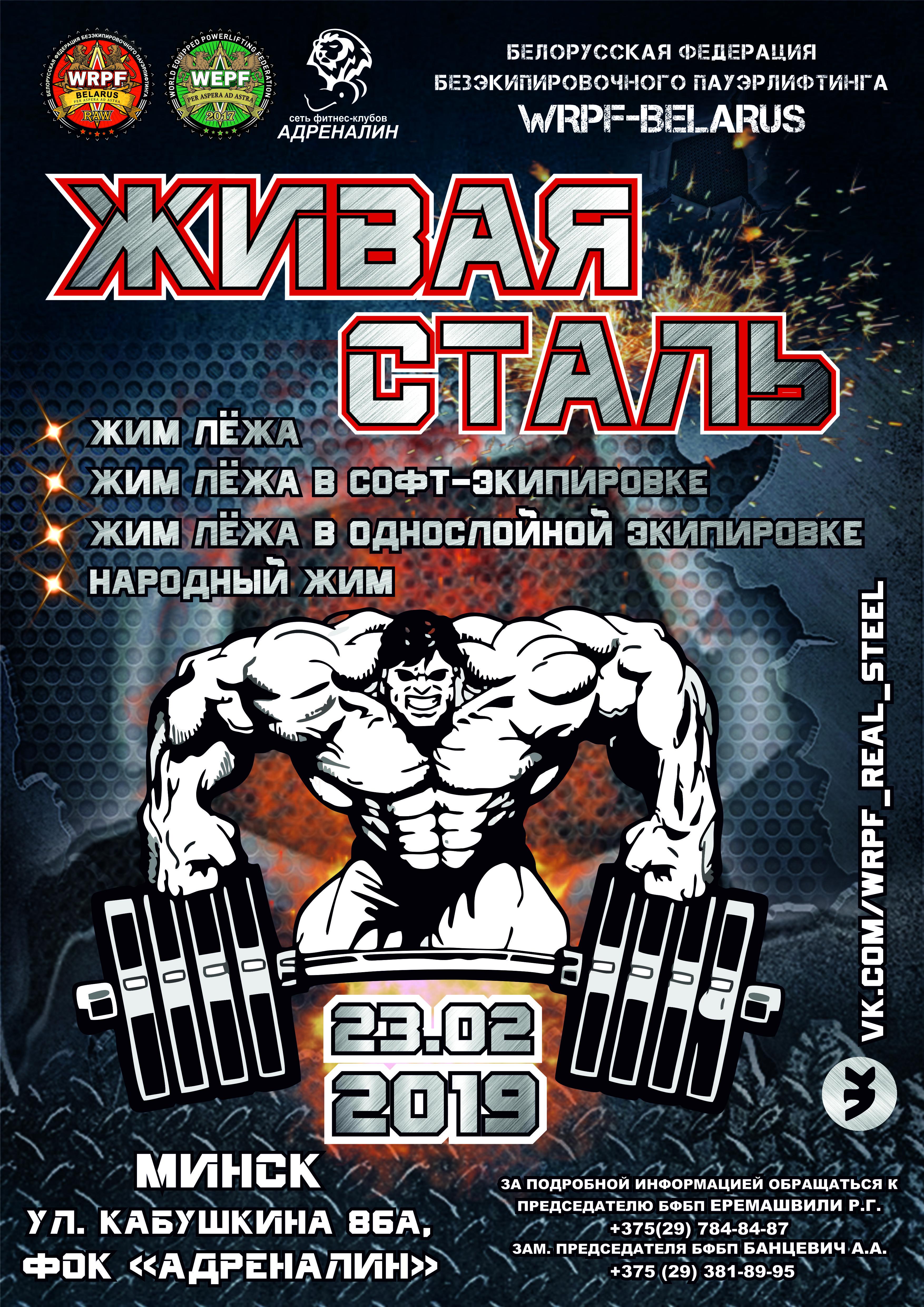 Открытый мастерский турнир 2019 года «Живая сталь»